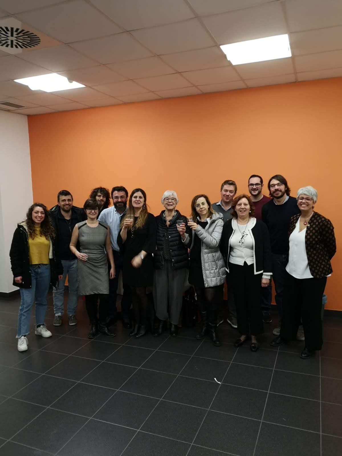 Il team MOSAIC al termine dell'evento di presentazione del progetto