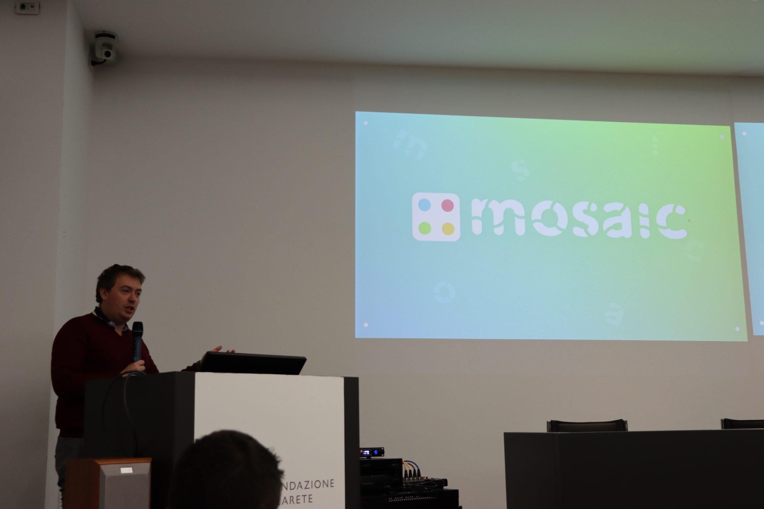 Matteo Valoriani presenta MOSAIC