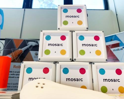 I cubi MOSAIC alla Global Inclusion di Bologna