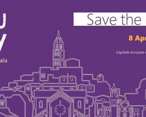 MOSAIC ha partecipato all'Edu Day a Matera, l'immagine rappresenta la città stilizzata